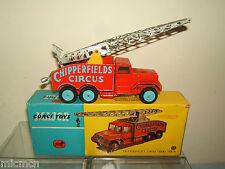 """Corgi toysmodel No.1121 """"notable"""" Circo grúa VN MIB"""
