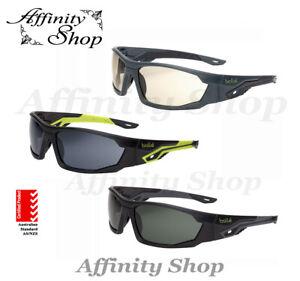 Bolle Mercuro Safety Glasses Premium Platinum Eyewear or Polarised AS/NZS Cert