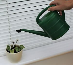 Watering Can Indoor Long Spout Garden Plants Plastic In/Out 1 Ltr