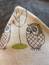 """Lovely Fryetts """"Woodland Fox/Owl/Mushroom Linen Face Cover Teen/Adult wash/wire"""