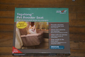Tagalong Solvit  Pet Booster Seat Medium  Up to 12 lbs NEW