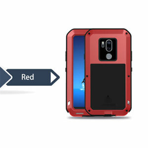 Waterproof Shockproof 360 Aluminum Gorilla Metal Glass Cover Case For LG Phones