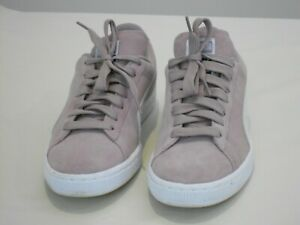 Puma Womens Suede Classic Lilac Trainers Sneakers - Size US8 - As New