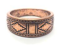 Vintage Ring Size 9.5 Band Southwest