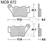 TRW Lucas Pastiglie mcb672rsi POSTERIORE KTM EXC 520 RACING