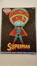 1973 Amazing World Of Superman Official Metropolis Edition Complete with Poster