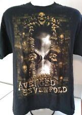 Avenged Sevenfold 2010 Nightmare tour T Shirt Men's Large