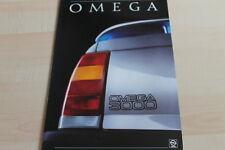 131772) Opel Omega A 3000 Prospekt 11/1986