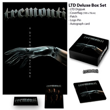 Tremonti A Dying MAchine Autographed box set w/ cd flag pin signed card IN STOCK