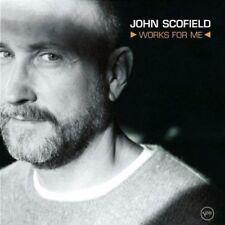 """JOHN SCOFIELD """"Works For Me"""" CD! BRAND NEW! STILL SEALED!"""