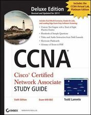 CCNA Cisco Certified Network Associate Deluxe Study Guide, (Includes 2 CD-ROMs)