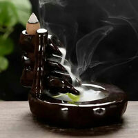 Incense Burner Backflow Censer Reverse Incense Tower+ 70 Lavender Cones