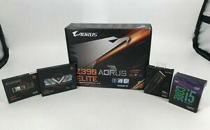 PC PARTS COMBO! Z390 AORUS ELITE/ i5-9600K/ 16GB XPG Ram 3200 /256GB & 500GB M.2