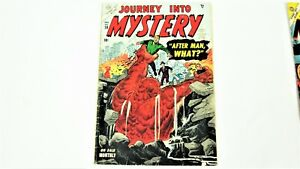 Journey Into Mystery-Golden Age-2 Book Lot