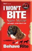 Mikki Dog Friendly Training Muzzle Easy Fit for Medium Dogs - Size 2
