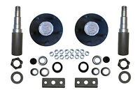 Build Your Own Trailer Axle Kit 3500# Camper ROUND NoBK 5 x 4.75 Bolt Pattern