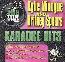 Kylie Minogue And Britney Spears / Karaoke Hits