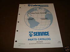 OMC Cobra Stern Drives 5.7 Parts Catalog ´91