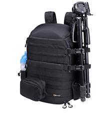 BENKID BK-450 Large Camera Backpack DSLR Photo Bag Backpack & All Weather Cover