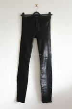 J Brand Leather Regular Size Pants for Women