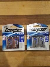 Energizer Ultimate L522BP2 9V Lithium Batteries - 2 Count