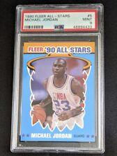 1990 Fleer Michael Jordan All Stars Insert PSA 9! 🔥🔥📈📈🔥🔥