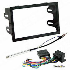 Aftermarket D-DIN Radio Mounting Dash Kit w/CAN-BUS Interface Car Stereo Install
