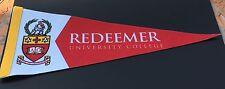 Redeemer University Colllege Hamilton Ontario Pennant Christian Canada