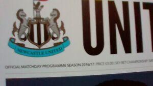 Newcastle United v Birmingham City  - 10 December 2016