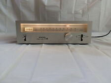 Pioneer TX-5500 II FM Stereo Tuner Silver Vintage Retro 1970s Made in Japan