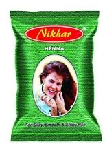 Nikhar henna based hair color with all natural ingredients 20gms brown color