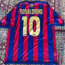 4461a8b31ce FC Barcelona FCB Home Jersey Camiseta Ronaldinho SIZE XL Official Product
