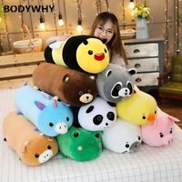 Cylindrical Animals Toys Long Cartoon Stuffed Plush Leg Pillow Sleeping Bolster