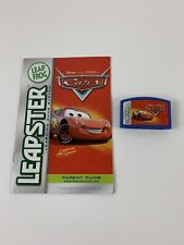 LeapFrog Leapster Learning Game Cartridge Only Disney Pixar Cars W/ Manual