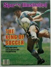 DIEGO MARADONA July 7, 1987 Sports Illustrated Magazine - NO LABEL