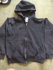 USA By JC Penny KIDS Black Hooded Zip Sweater Size L 14-16