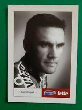 CYCLISME carte cycliste SERGE BAGUET équipe DAVITAMON LOTTO 2005