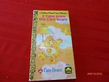 Care Bears VHS Golden Book Video The Trouble with Timothy Being Brave 1986 USA