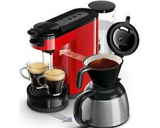 Philips Hd7892/80 Senseo Pad und Filterkaffeemaschine - Rot