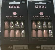 (2) Kiss Masterpiece One-Of-A-Kind Luxe Mani, KMN02