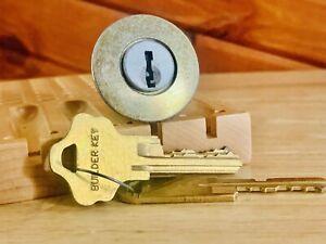 Kwikset Titan Rekeyable Rim Lock w/ Builder Keys and Reying Tool Locksport