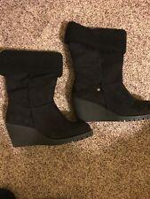 df98e58fa33 EUC Jellypop Shoes Women s Black Mid Calf Boots Size 8M