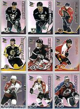 2000/01 McDONALDS PACIFIC PRISM 36 CARD BASE SET + 9 CARD CHECKLIST SET