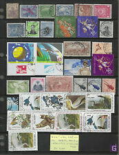HAITI...1892/1975...M & U...Nice Collection of 34 Different...some nice BIRDS