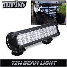 "12"" Led Work Light Bar Offroad Driving Lamp Fit EZGO TXT Golf Cart Front Bumper"
