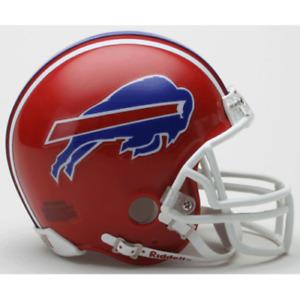 Buffalo Bills 1987-2001 87-01 Throwback VSR4 Riddell Mini Helmet New in box