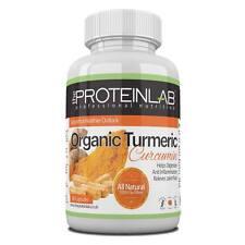 Organic Turmeric 500mg Capsules Antioxidant Curcumin Anti Inflammatory x 120