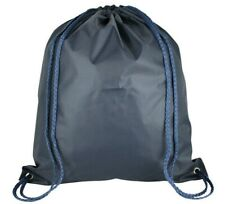 27 x Drawstring Nylon Backpack Rucksack Bag School Gym Sports PE Books Dance UK