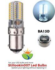 1 - (BA15D)- 64 LED Cool White 110-120 Volt Appliance Light Bulb - LED
