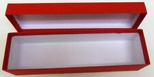 Loco/Locomotive Storage Boxes, Large (Red) with Lid - New.